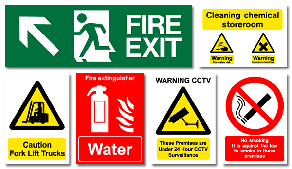 August 30, 2019 Standard for Safety Signs